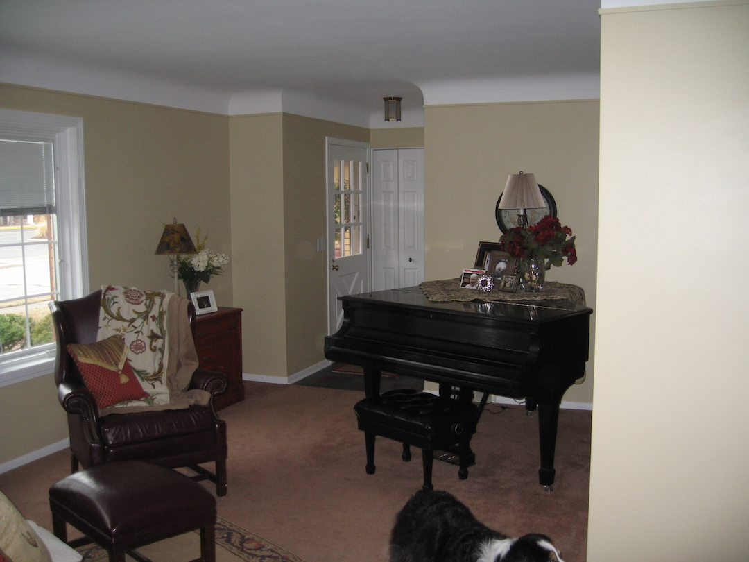 9. BEFORE - Living Room