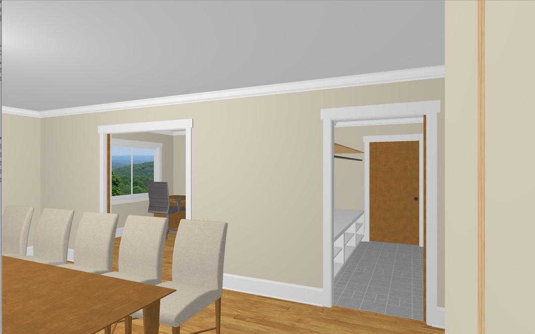 3. Office : Mud Room