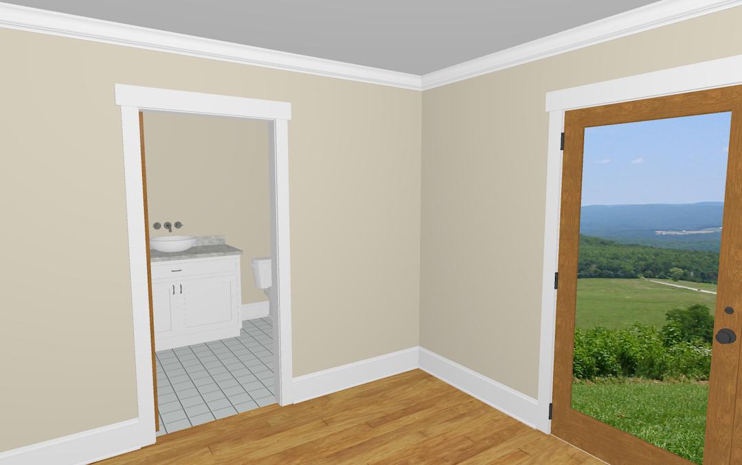 6. Powder Room